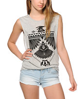 Empyre Lauryn Native Bird Muscle Tee