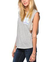 Empyre Lauryn Tribal Pocket Muscle T-Shirt