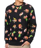 Empyre Leary Fruit Black Crew Neck Sweatshirt