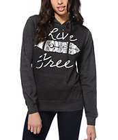 Empyre Live Free Feather Hoodie