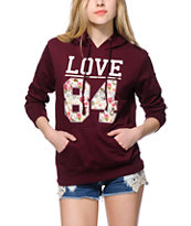 Empyre Love 84 Floral Fill Hoodie