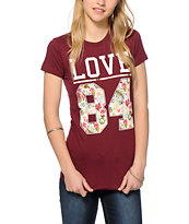 Empyre Love 84 Floral Fill T-Shirt