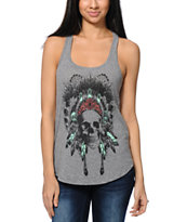 Empyre Made Of Skull Grey Tank Top