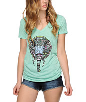 Empyre Majestic Elephant V-Neck T-Shirt