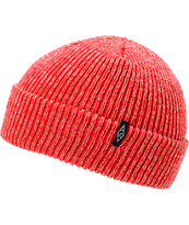 Empyre Mash Red Fold Beanie