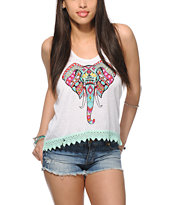 Empyre McGraw Elephant Crop Tank Top