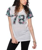 Empyre Menace Varsity Floral T-Shirt