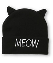 Empyre Meow Cat Ears Beanie