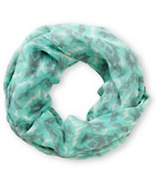 Empyre Mint Tribal Print Infinity Scarf