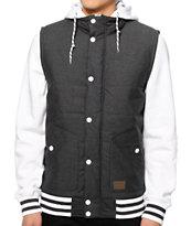 Empyre Mixtape Grey Vest Hoodie