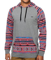 Empyre Monday Tribal Hooded Shirt