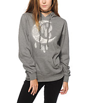 Empyre Moon Feather Hoodie