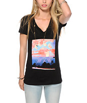 Empyre Moonscape V-Neck T-Shirt