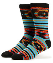 Empyre Mountaineer Native Print Crew Socks