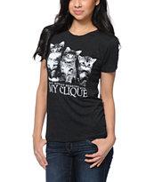 Empyre My Clique Charcoal T-Shirt