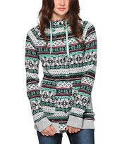 Empyre Naya Fair Isle Tech Fleece Jacket
