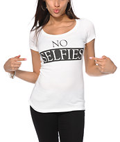 Empyre No Selfies Tee Shirt