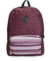 Empyre Olga Blackberry Tribal Backpack