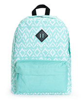Empyre Olga Mint Tribal Print Backpack