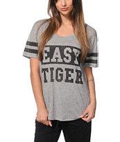 Empyre Olive Tiger Varsity T-Shirt