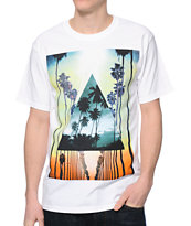 Empyre Palm Beach Drive White Tee Shirt