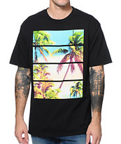 Empyre Palm Breeze Black Tee Shirt