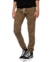 Empyre Pearson Animal Print Sweatpants