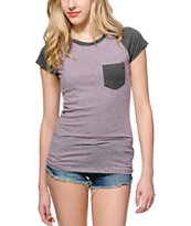 Empyre Petra Speckled Blackberry T-Shirt