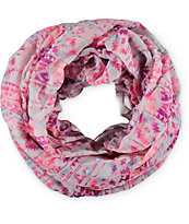 Empyre Pink & Blue Tribal Infinity Scarf