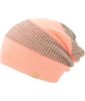 Empyre Piper Coral Rugby Stripe Beanie