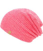 Empyre Piper Neon Pink Lurex Beanie