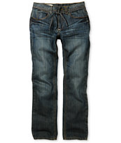 Empyre Pistol Resin Wash Blue Regular Fit Jeans
