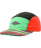 Empyre Prince Green, Black, & Red 5 Panel Hat