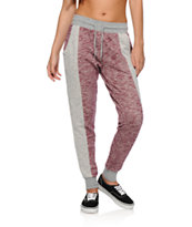 Empyre Regan Blackberry Speckle Panel Jogger Pants