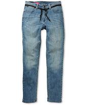 Empyre Revolver Salt Lake Blue Skinny Jeans