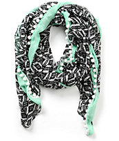 Empyre Riley Pearl Tribal Oblong Scarf