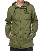 Empyre Riot Olive M65 Field Hooded Jacket