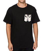 Empyre Ruby Wolf Pocket T-Shirt