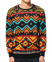 Empyre Rudi Multi Color Intarsia Sweater