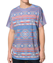 Empyre Salish Grey & Tribal Print Sublimated Tee Shirt