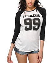Empyre Sawyer 99 Problems Baseball Tee