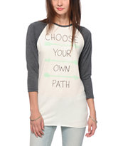 Empyre Sawyer Choose Your Path Baseball Tee