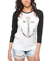 Empyre Sawyer Free Spirit Anchor Baseball Tee