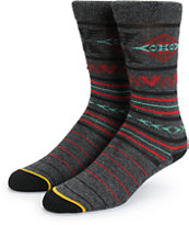 Empyre Schmitty Marbled Tribal Crew Socks