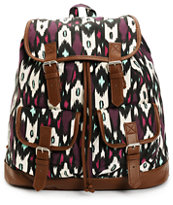 Empyre Serene Blackberry & Mint Tribal Rucksack Backpack