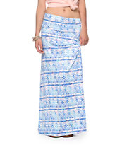 Empyre Shayla Multi Tribal Maxi Skirt