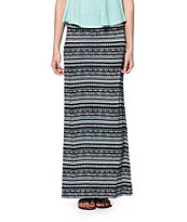 Empyre Shayla Tribal Print Maxi Skirt