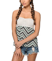 Empyre Skeeter Chevron Strapless Tank Top