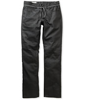Empyre Skeletor Black Waxed Skinny Jeans