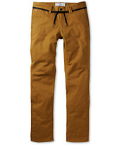 Empyre Skeletor Brown Skinny Chino Pants